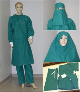 Picture of Inter-Faith Gown - modesty hospital gown